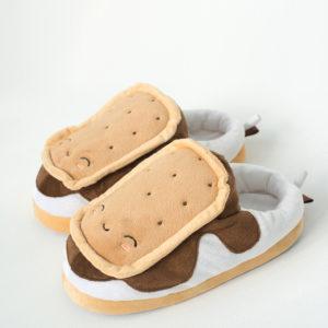 Pantofole Biscotto Riscaldabili