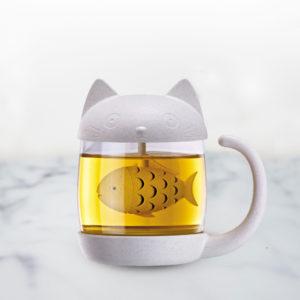 Tazza da Tè con Infusore Gatto