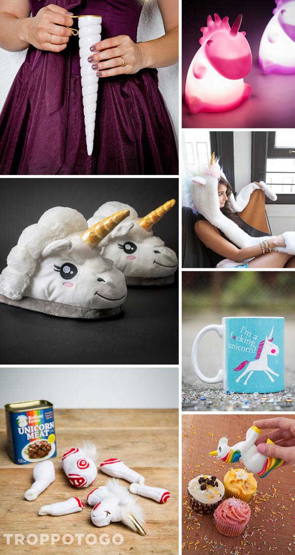 regali di Natale unicorni