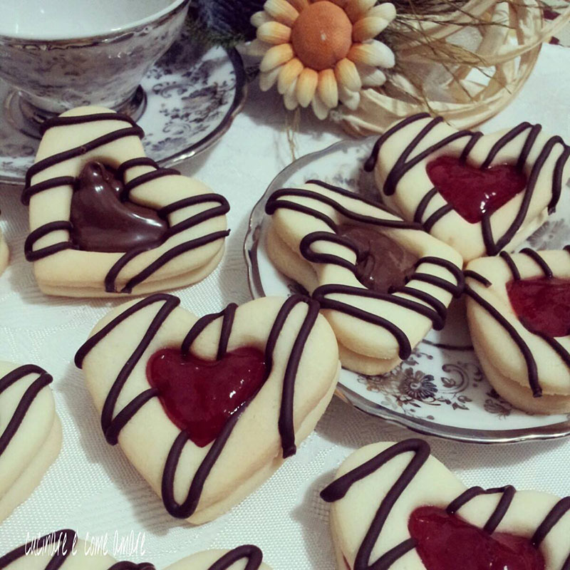 biscotti cuori