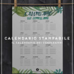 calendario stampabile header