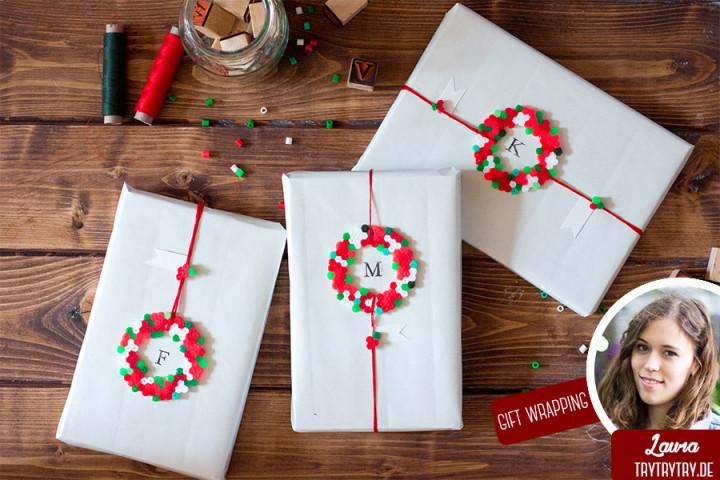 gift-wrapping-hamabeads Troppotogo