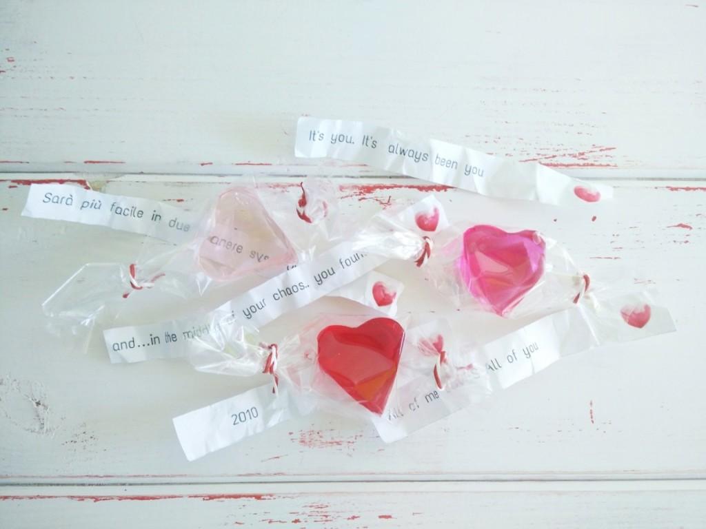 Messaggi San Valentino - Procedimento