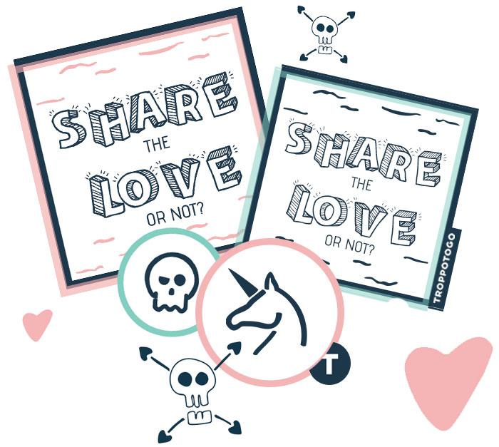 Stickers Stickers Concorso San Valentino