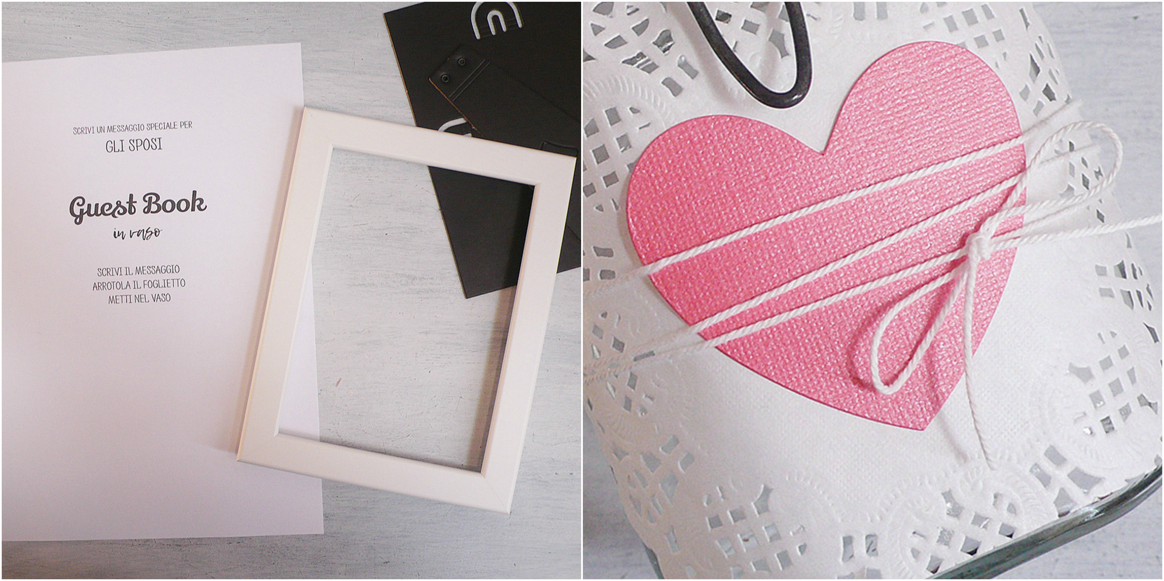 Diy guest book collage -troppotogo