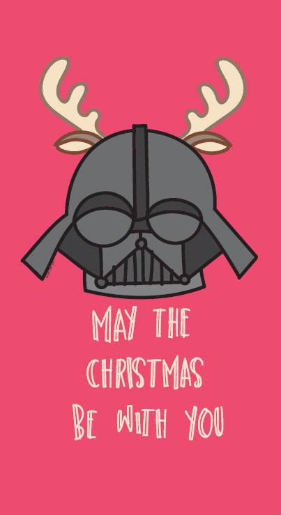 bigliettino di auguri Star Wars Troppotogo