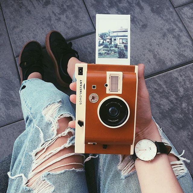Macchina fotografica instantanea