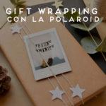 polaroid gift wrapping