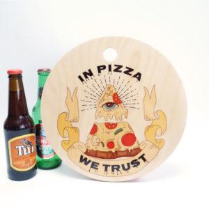 Tagliere In Pizza We Trust