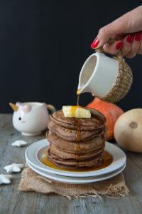 Pancake allo zenzero