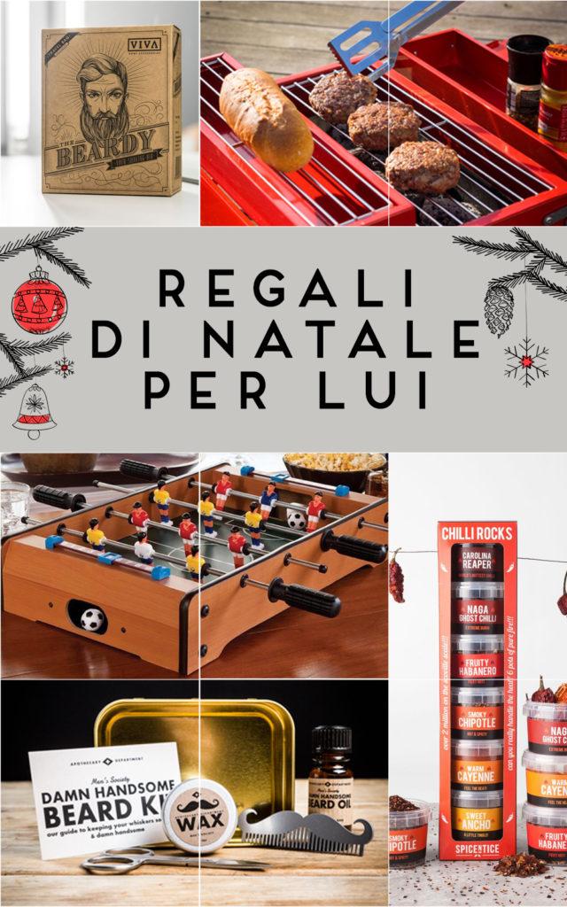 Regali di Natale per lui Collage
