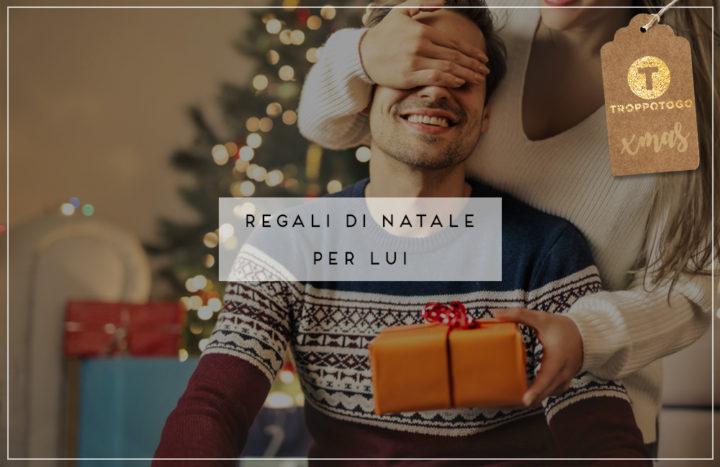 Regali di Natale per lui Header