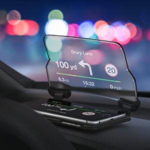 Display per Smartphone Hudway
