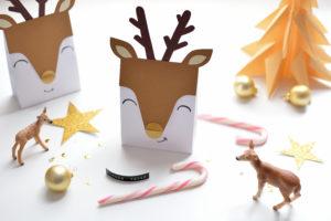 Confezioni regalo con le renne