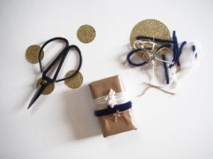 Pacchetto regalo personalizzato: con lana e cotone