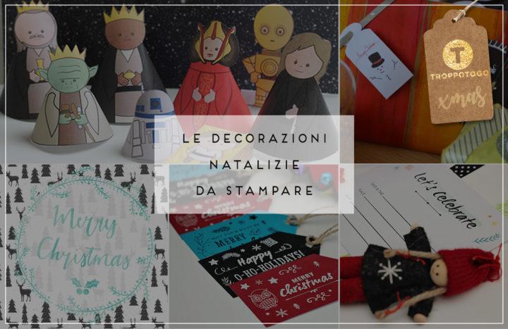 decorazioni natalizie da stampare Header