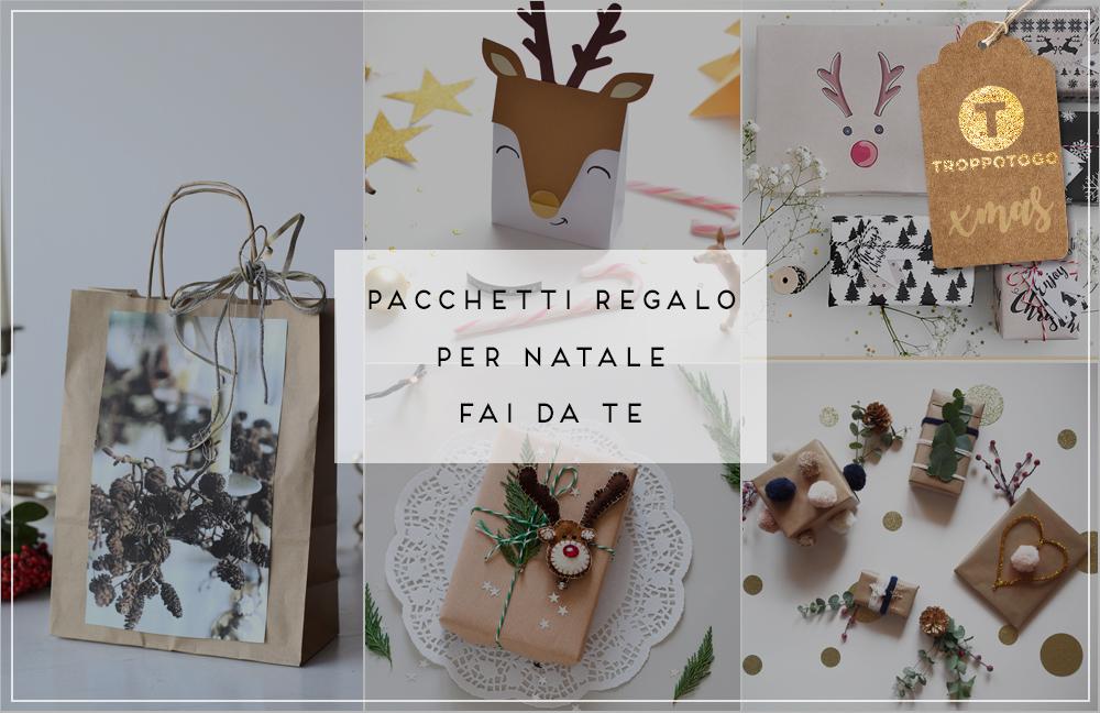 Pacchetti regalo fai da te per Natale, i più originali