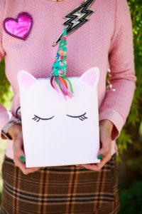 Pacco regalo unicorno