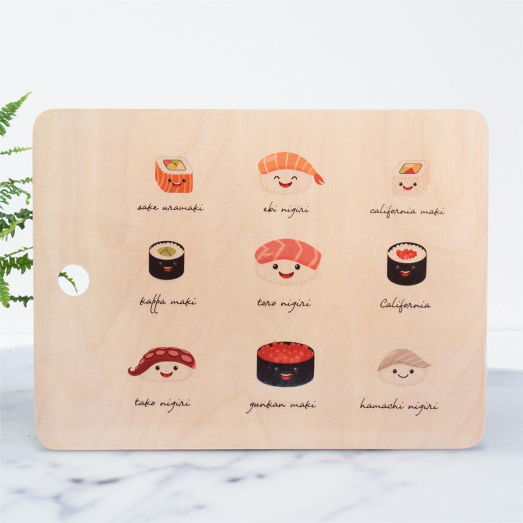 ricette facili tagliere sushi