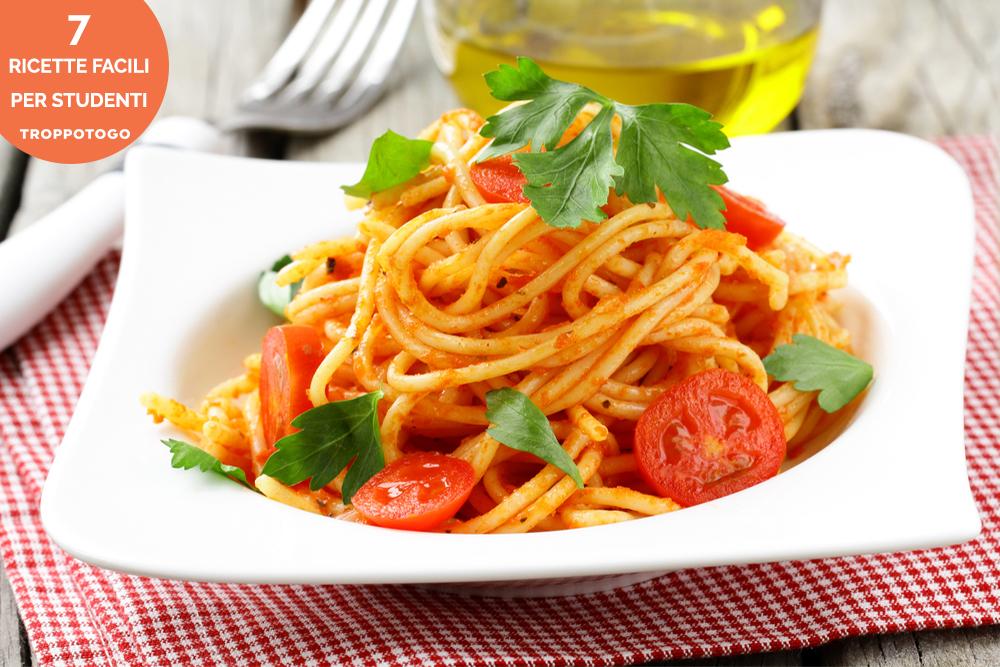 ricette facili pasta pomodoro