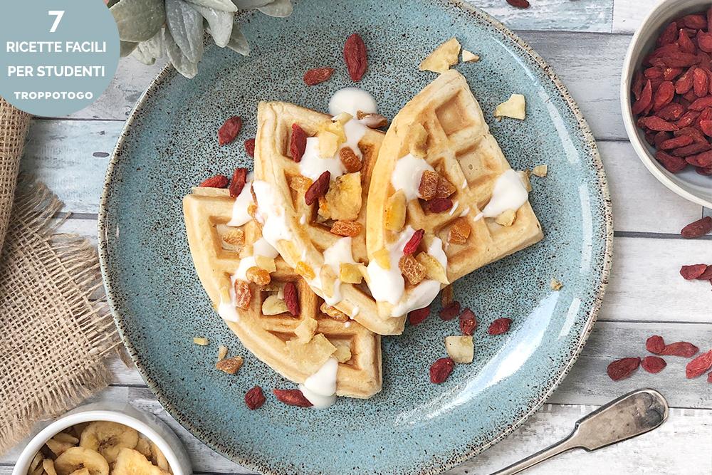 ricette facili waffle