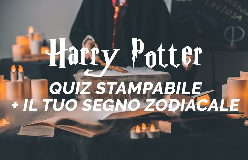 test di harry potter