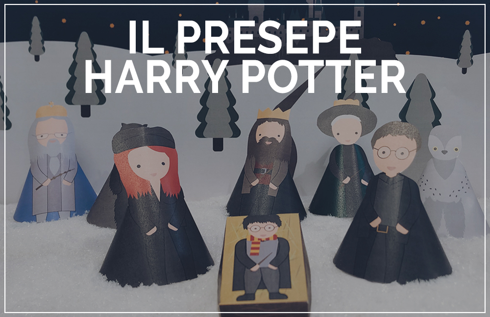 presepe harry potter