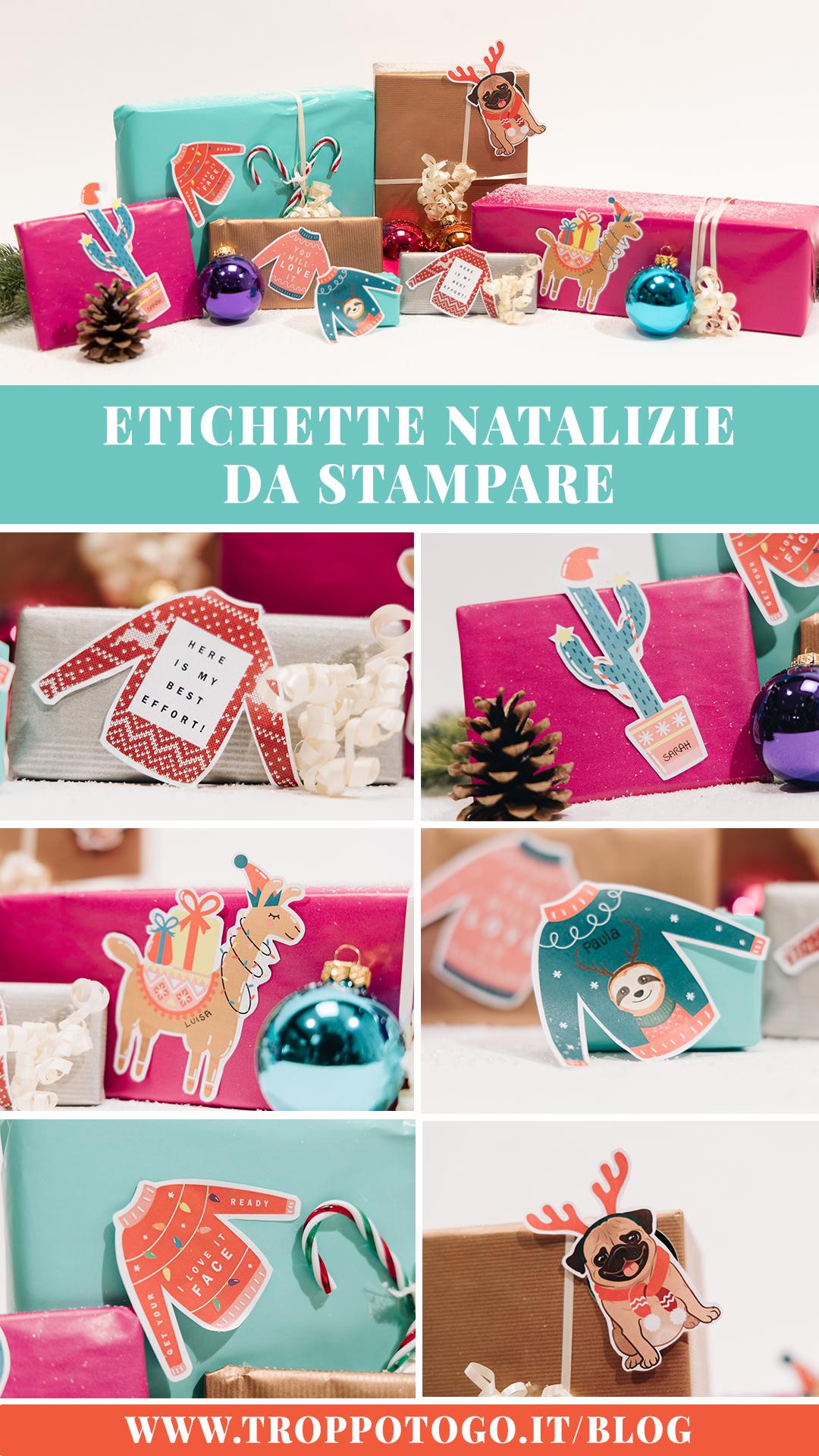 Etichette Natalizie Da Stampare etichette natalizie divertenti da stampare