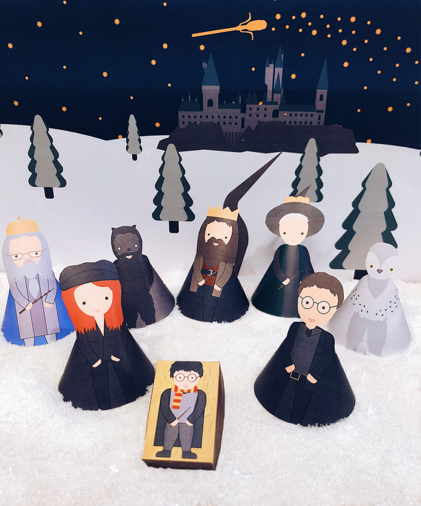 presepe di harry potter