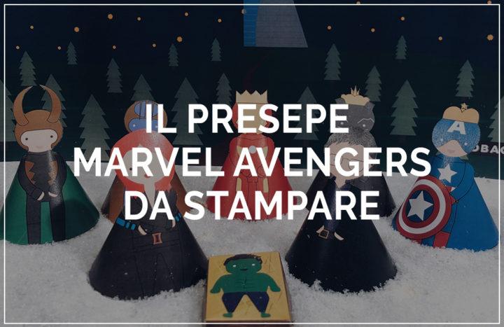 presepe marvel avengers