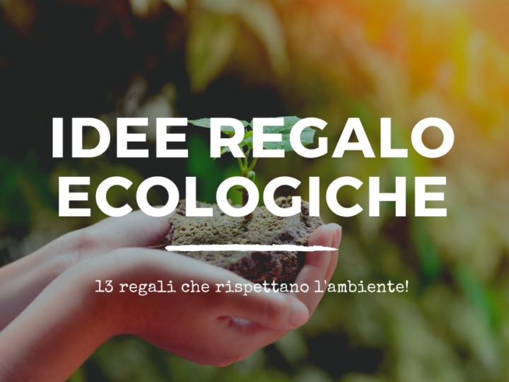 regali ecologici