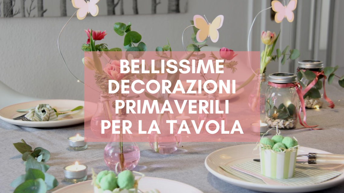 decorazioni primaverili