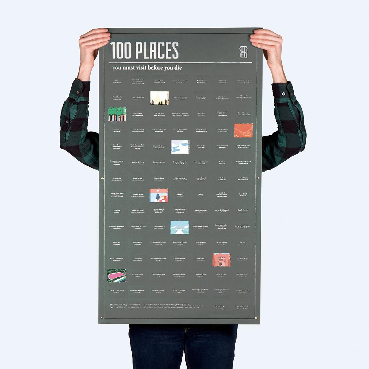 Poster 100 Posti da Vedere nella Vita