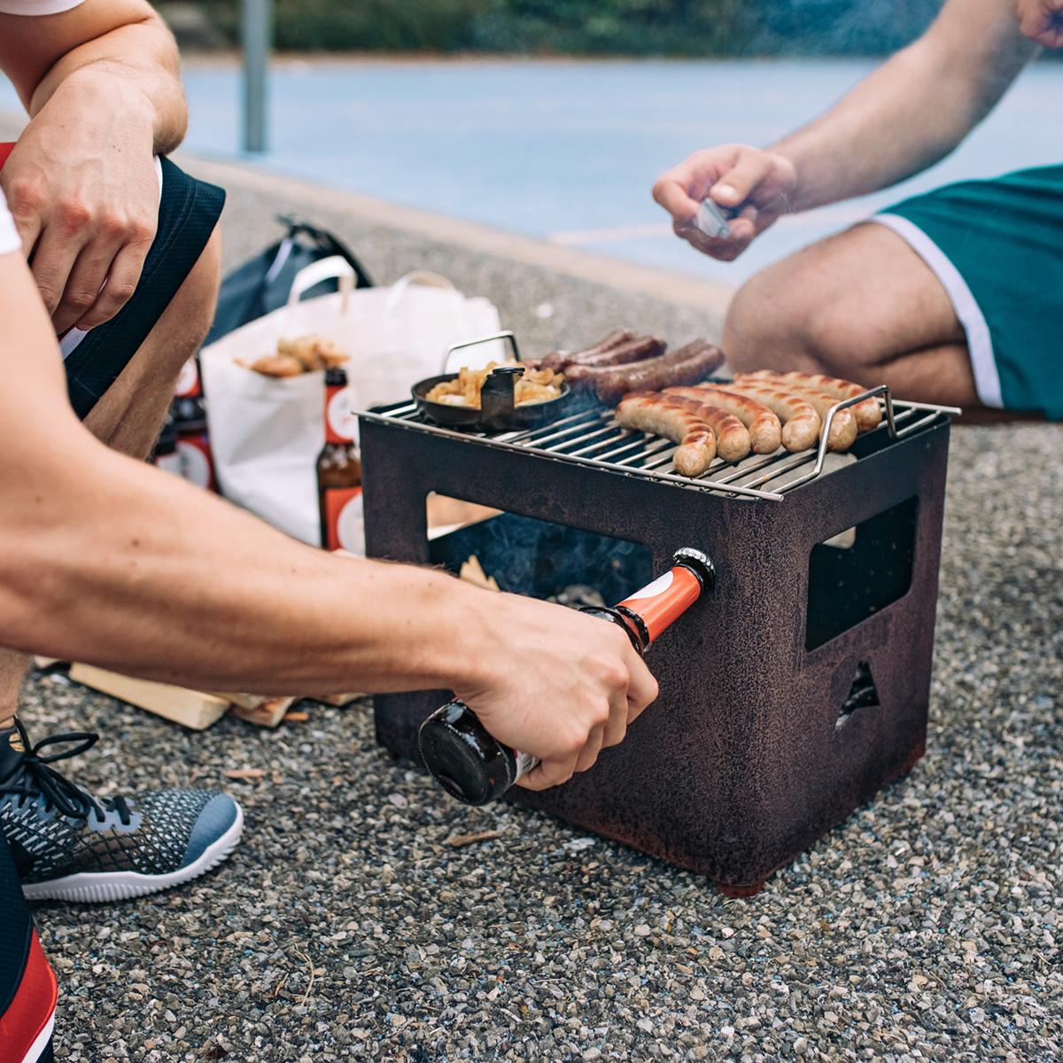 Beer Box con Funzione Camino e Griglia
