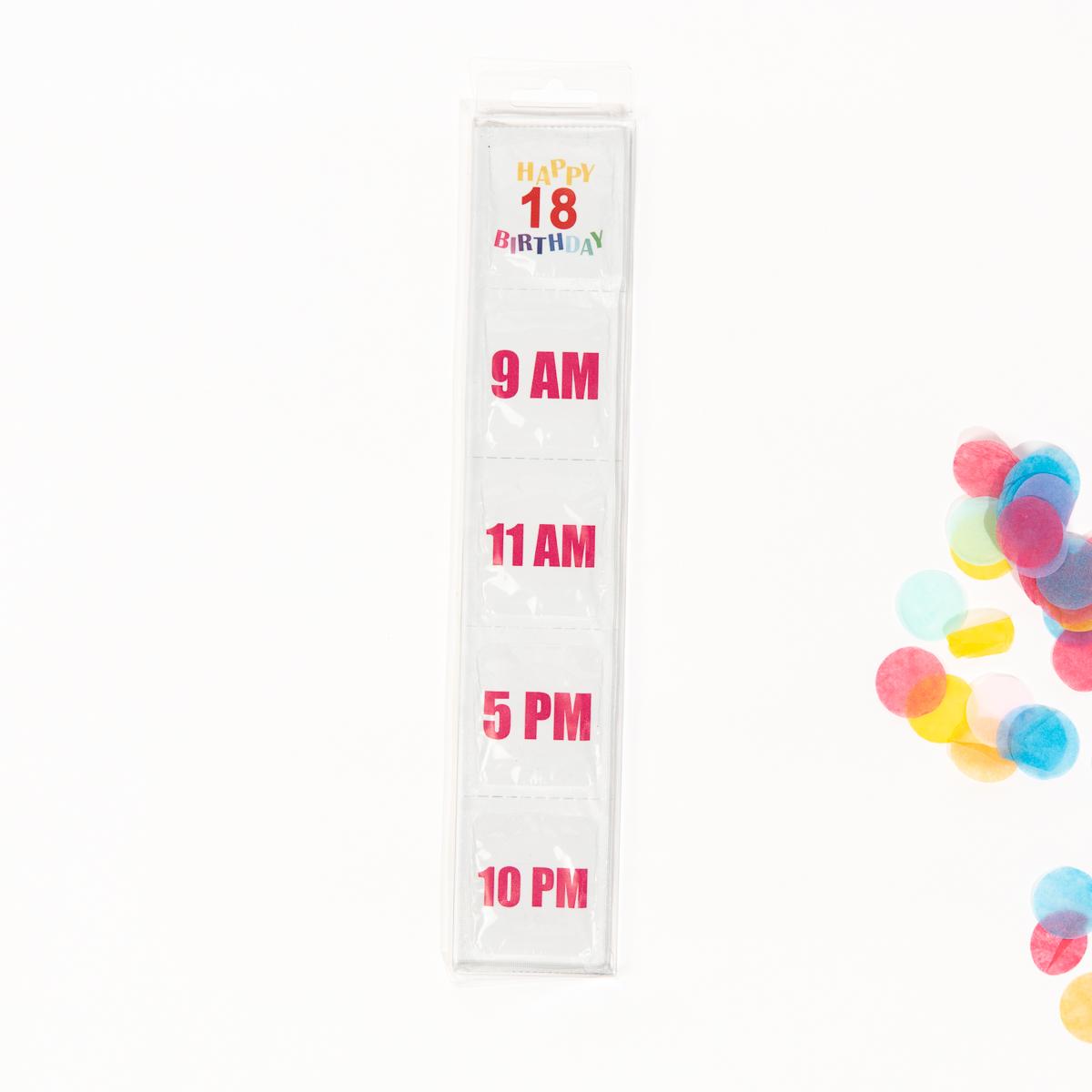 Preservativi per Compleanno 18 + 30 + 40 Anni