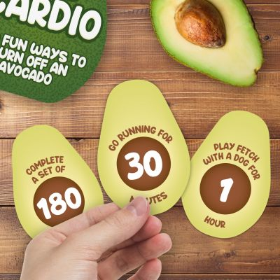 Avocardio - 100 Esercizi per Bruciare un Avocado