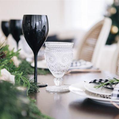 Bicchieri da Vino Neri – Set da 4