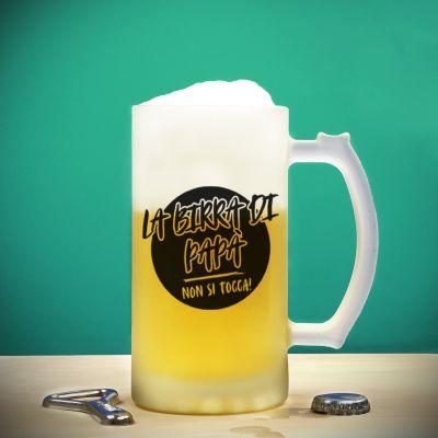 Boccale da Birra La Birra di Papà