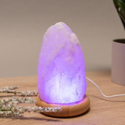 Lampada di Sale dell'Himalaya con USB
