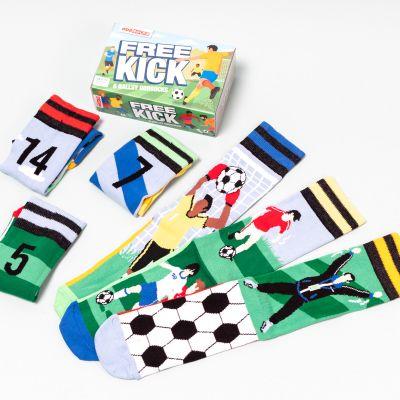 Calzini per Fan di Calcio Free Kick