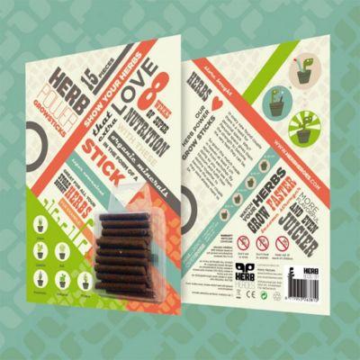 Nutrienti Herb Power Sticks Fertilizer