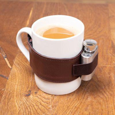 Tazza per Caffè Corretto con Fiaschetta