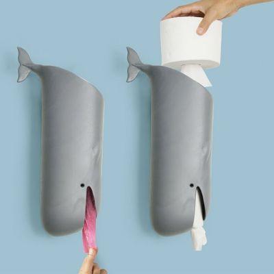Porta Carta Igienica Moby Whale