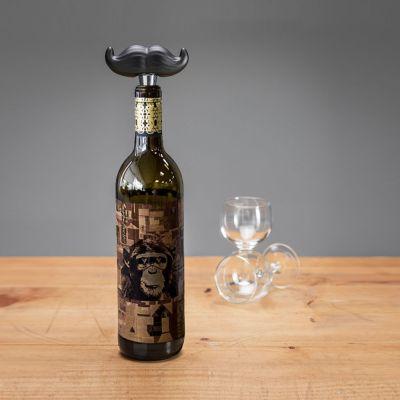Tappo Stopper per Bottiglia con Baffi
