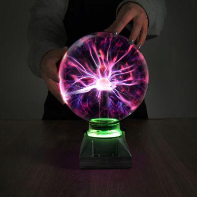 Sfera con Plasma Tridimensionale