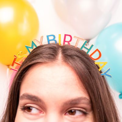 Corona Arcobaleno per Compleanno