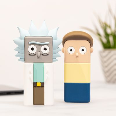 Caricabatterie Rick and Morty