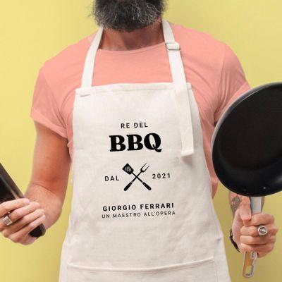 Grembiule da Cucina Re del BBQ