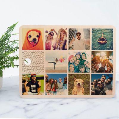 Tagliere Personalizzabile con 11 Foto