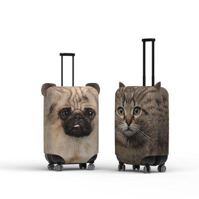 Copri-Valigia con Orecchie Cane e Gatto